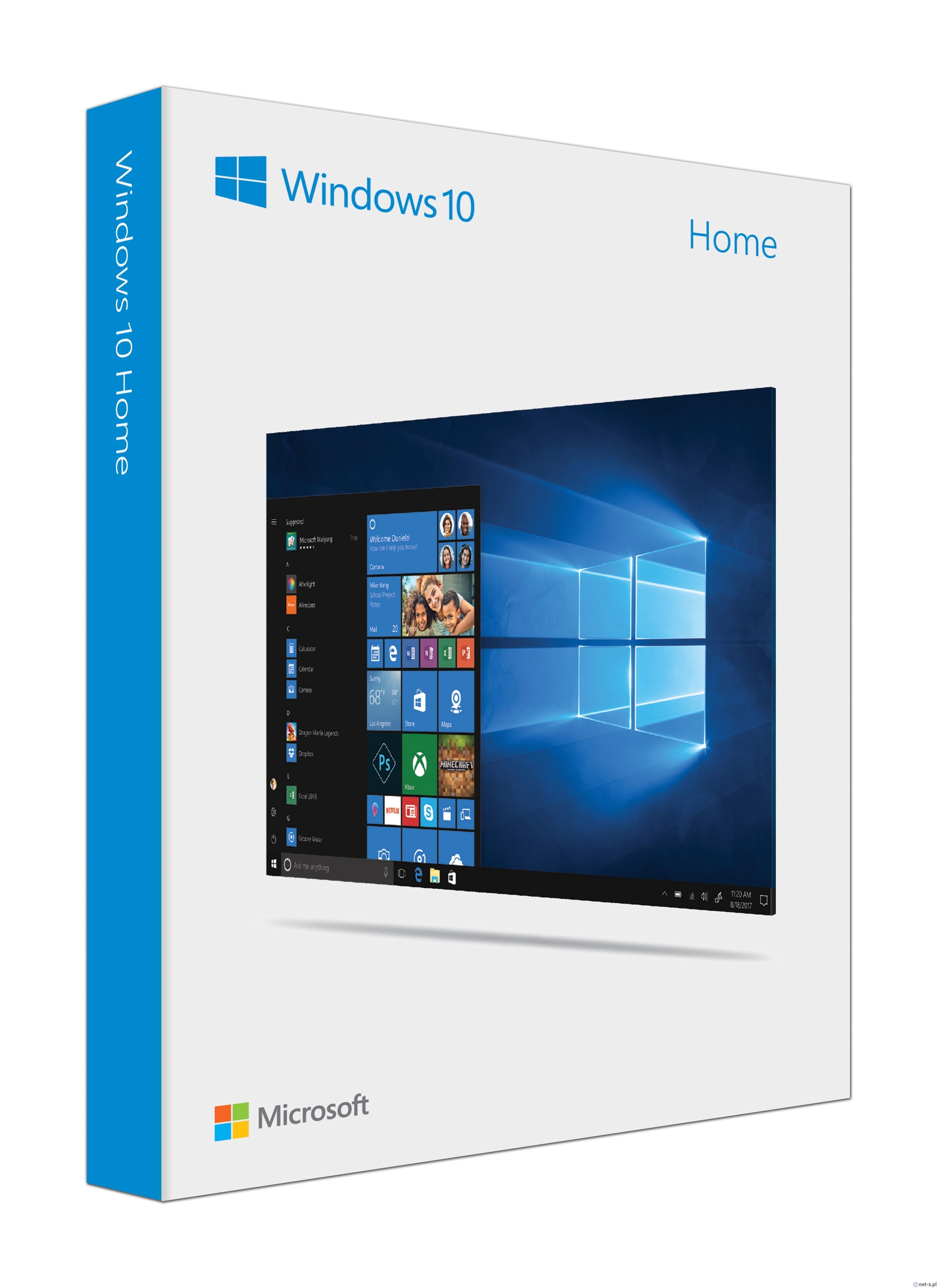 Windows HOME 10 32-bit/64-bit коробочная версия фото