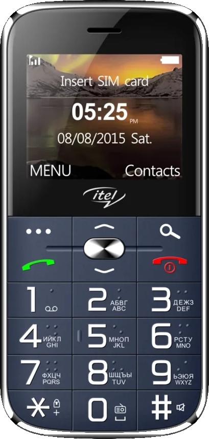 Мобильный телефон Itel IT2590 (синий) фото