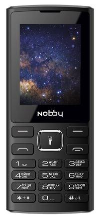 Смартфон Nobby 210 (черный с серым) фото