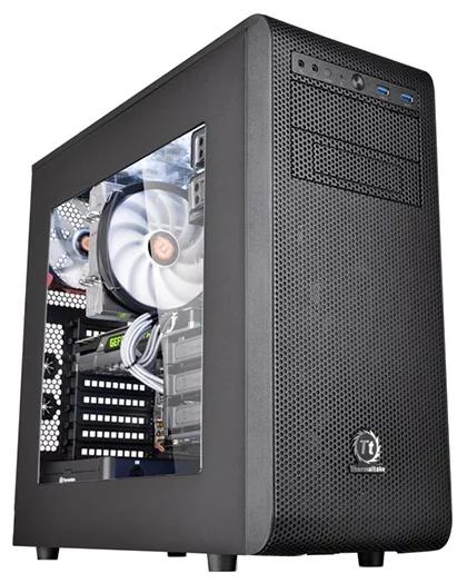 Купить Thermaltake Core V31 CA-1C8-00M1WN-00 Black в интернет магазине. Цены, фото, описания, характеристики, отзывы, обзоры
