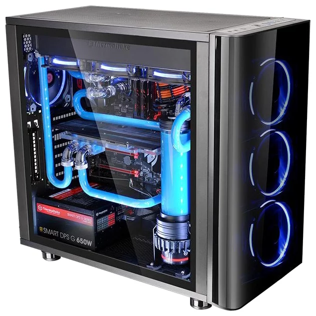 Thermaltake View 31 Tempered Glass CA-1H8-00M1WN-00 Black