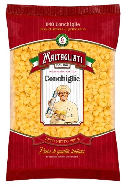 Купить Maltagliati Conchiggle ракушки 500 г в интернет магазине. Цены, фото, описания, характеристики, отзывы, обзоры