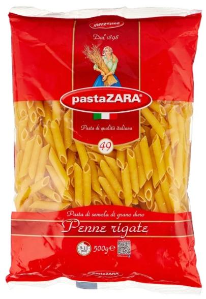 Купить Pasta Zara Перья средние рифленые 500 г в интернет магазине. Цены, фото, описания, характеристики, отзывы, обзоры