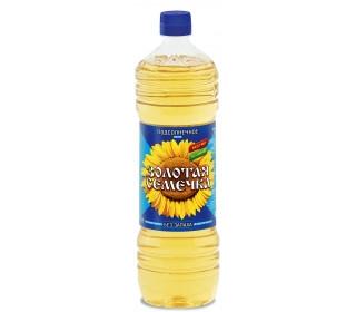 Купить Золотая семечка Подсолнечное масло 1 л в интернет магазине. Цены, фото, описания, характеристики, отзывы, обзоры