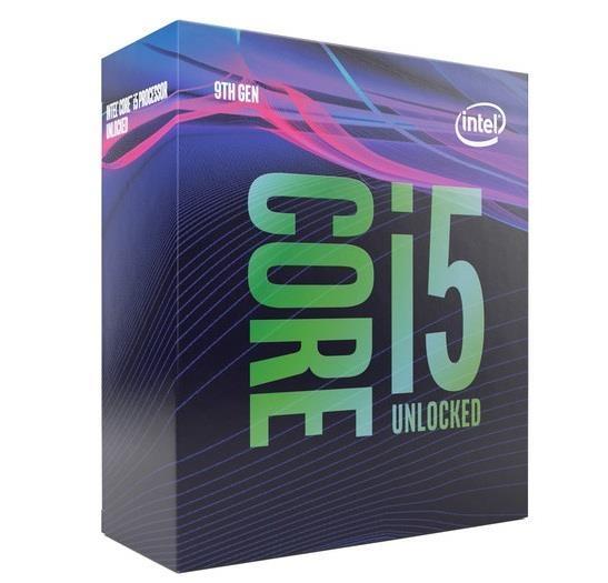 Процессор Intel, Core i5-9600KF Coffee Lake (3700MHz, LGA1151 v2, L3 9216Kb) (bx)  - купить со скидкой