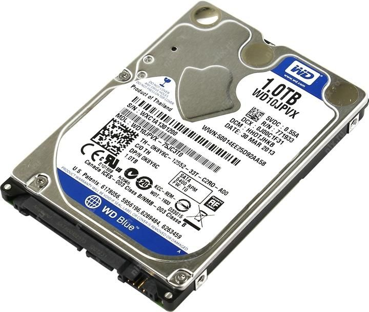 "Western Digital Blue Mobile 2.5"" 1Tb WD10JPVX"