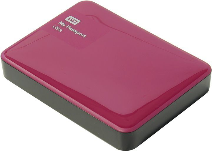 "Western Digital My Passport Ultra 2.5"" 2Tb WDBNFV0020BBY-EEUE Red USB3.0"