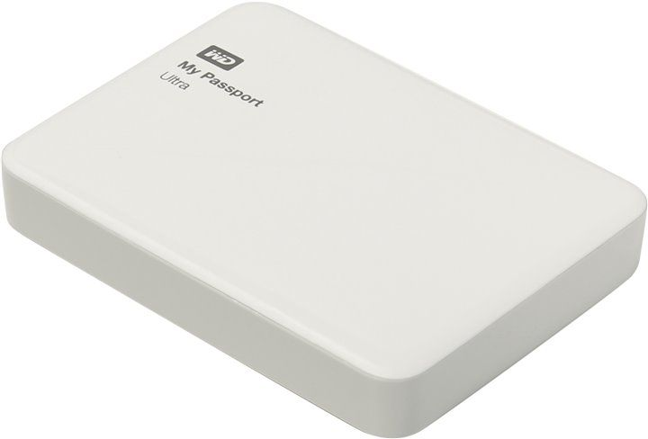 "Western Digital My Passport Ultra 2.5"" 2Tb WDBNFV0020BWT-EEUE White USB3.0"