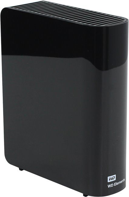 "Western Digital Elements Desktop 3.5"" 4TB WDBWLG0040HBK-EESN USB3.0"