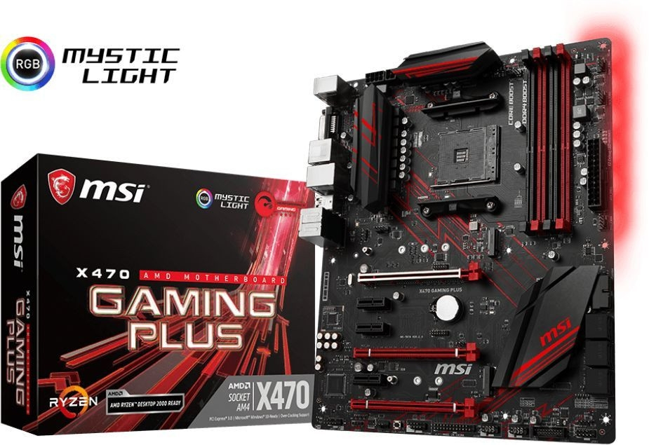 MSI X470 GAMING PLUS sAM4