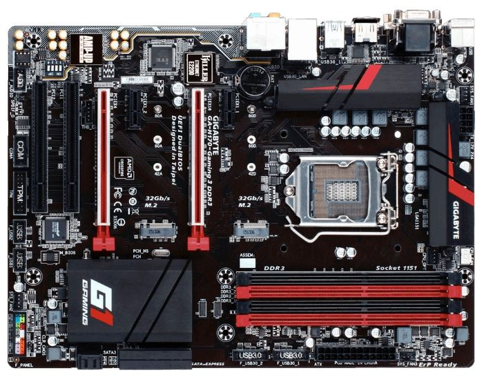 GigaByte GA-H170-Gaming 3 DDR3 (rev. 1.0) s 1151