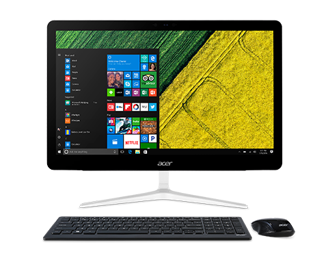 "Acer Aspire Z24-880 (Intel Core i5-7400T 2400 MHz/23.8""/1920x1080/8GB/1Tb HDD/DVD-RW/HD Graphics 630/WI-FI/Bluetooth/Windows 10 Home/Keyboard and Mouse) DQ.B8VER.020"