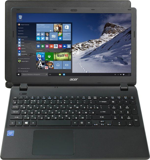 "Acer Extensa EX2519-C9Z0 (15.6""/ Celeron N3050/ Intel HD Graphics/ 2GB/ HDD 500GB/ DVD-RW / WiFi / BT/ Windows 10 Home (NX.EFAER.012)"