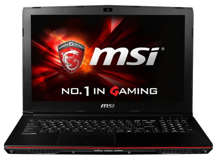 "MSI GP62 2QE-415XRU Leopard Pro (15,6"" / Core i7 5700HQ / 8Gb / 2Gb GTX 950M / DVD-RW / 750Gb HDD / WiFi / BT / DOS) MS-16J3"