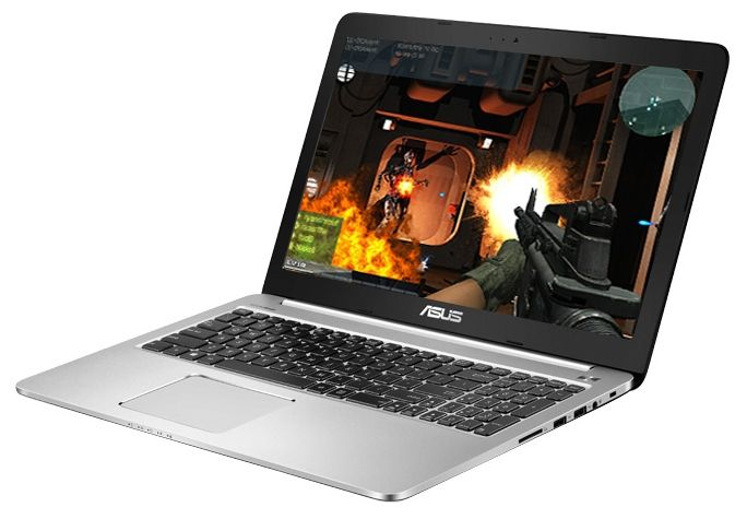 "ASUS  K501LB-DM131T (Core i5 5200U 2200 MHz/15.6""/1920x1080/6Gb/1Tb/DVD нет/NVIDIA GeForce 940M/Wi-Fi/Bluetooth/Win 10 Home)"