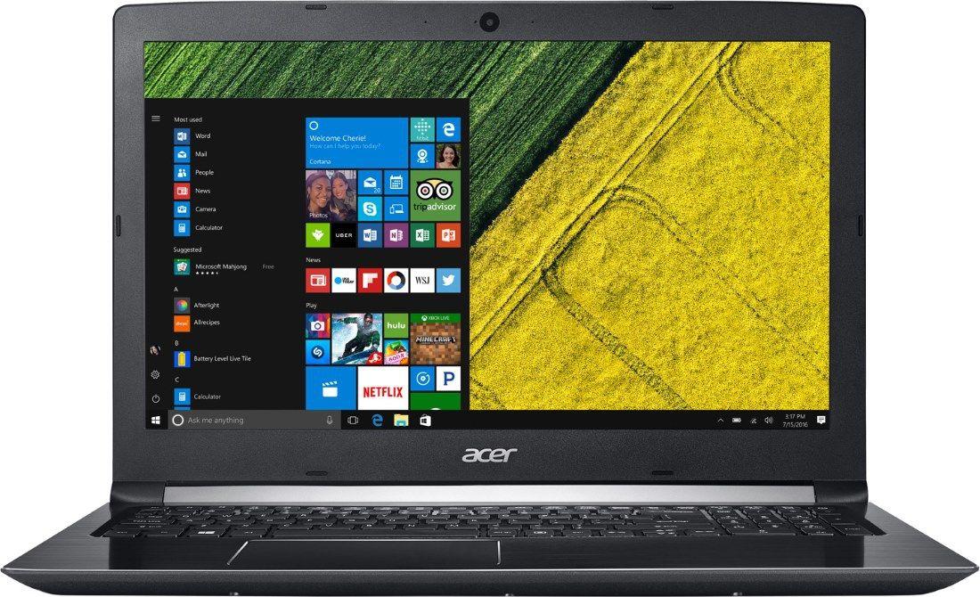 """Купить ноутбук Acer Aspire 5 (A515-41G-T3D4) (AMD A10 9620P 2500 MHz/15.6""""/1920x1080/8Gb/1128Gb HDD+SSD/DVD нет/AMD Radeon RX 540/Wi-Fi/Bluetooth/Windows 10 Home) NX.GPYER.007 в интернет магазине. Цены, фото, описания, характеристики, отзывы, обзоры"""