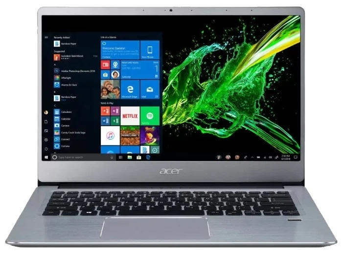 """Купить ноутбук Acer SWIFT 3 (SF314-58G-50MJ) (Intel Core i5-10210U 1600 MHz/14""""/1920x1080/8GB/256GB SSD/DVD нет/Nvidia GeForce MX250/Wi-Fi/Bluetooth/Linux) NX.HPKER.003 в интернет магазине. Цены, фото, описания, характеристики, отзывы, обзоры"""