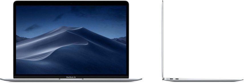 "Apple MacBook Air 13 with Retina display Late 2018 (Intel Core i5 8210Y 1600 MHz/13.3""/2560x1600/8GB/128GB SSD/DVD нет/Intel UHD Graphics 617/Wi-Fi/Bluetooth/macOS)"
