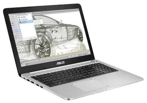 "ASUS  K501LB-DM131D (Core i5 5200U 2200 MHz/15.6""/1920x1080/6Gb/1Tb/DVD нет/NVIDIA GeForce 940M/Wi-Fi/Bluetooth/DOS)"
