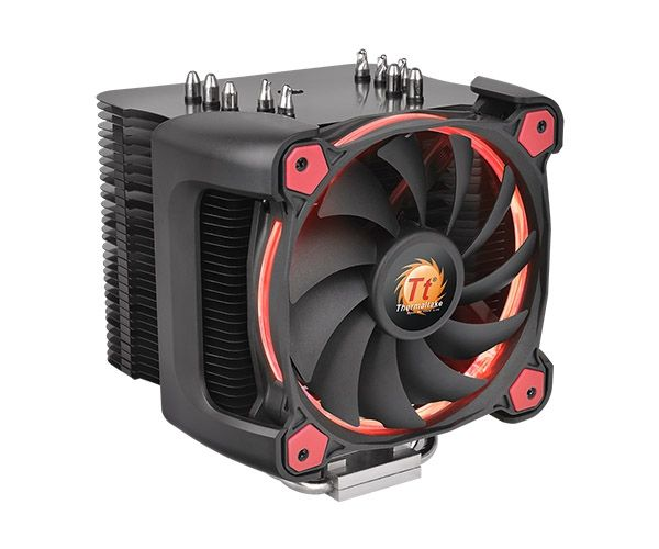 Thermaltake Riing Silent 12 Pro Red (CL-P021-CA12RE-A) LGA775, LGA1150/1151/1155/S1156/2066, LGA1356/S1366, LGA2011/2011-3 (Square ILM), AM2, AM2+, AM4, AM3/AM3+/FM1, FM2/FM2+