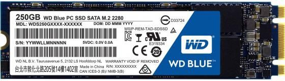 Western Digital M.2 2280 250Gb WD Blue WDS250G1B0B