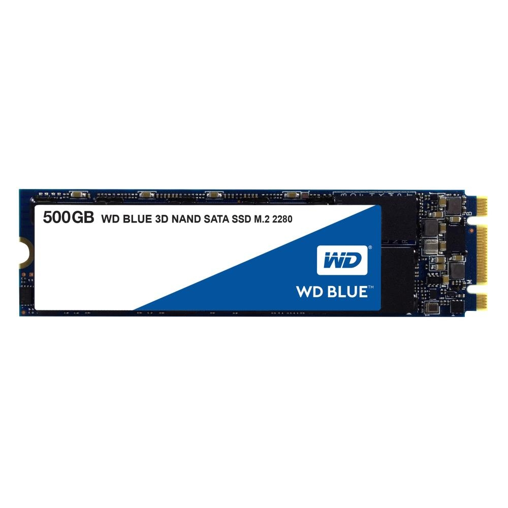 SSD накопитель Western Digital M.2 2280 500Gb WD Blue WDS500G2B0B фото