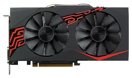 ASUS Radeon RX 570 1256Mhz PCI-E 3.0 4096Mb 7000Mhz 256 bit DVI HDMI HDCP Expedition OC EX-RX570-O4G