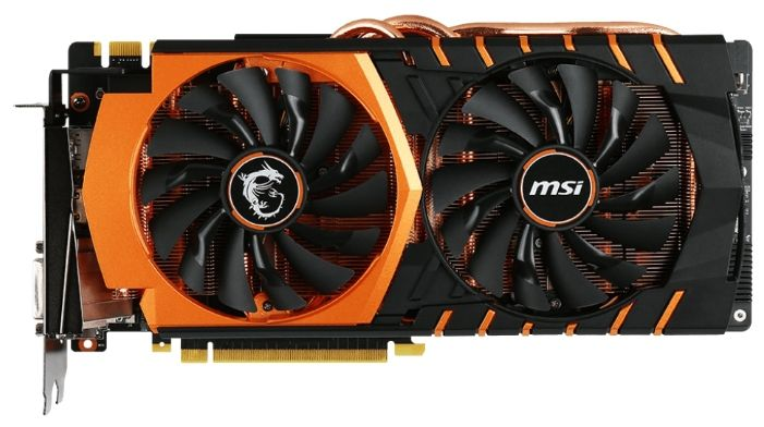MSI GeForce GTX 980 Ti 1190Mhz PCI-E 3.0 6144Mb 7096Mhz 384 bit DVI HDMI HDCP GOLDEN EDITION