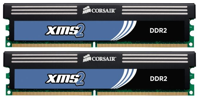 Corsair 4Gb (2*2Gb) DDR2 PC-6400 800MHz CM2X2048-6400C5C