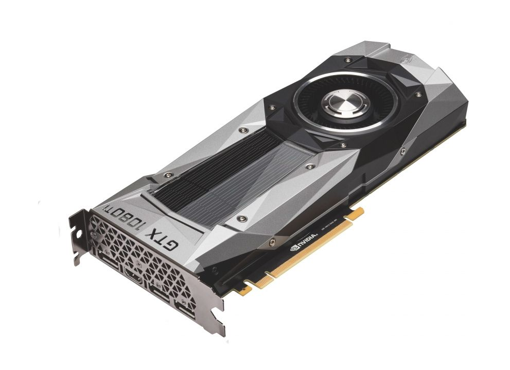 Palit GeForce GTX 1080 Ti Founders Edition 1480Mhz PCI-E 3.0 11264Mb 11010Mhz 352 bit HDMI 3*DP NEB108T019LC-1021F