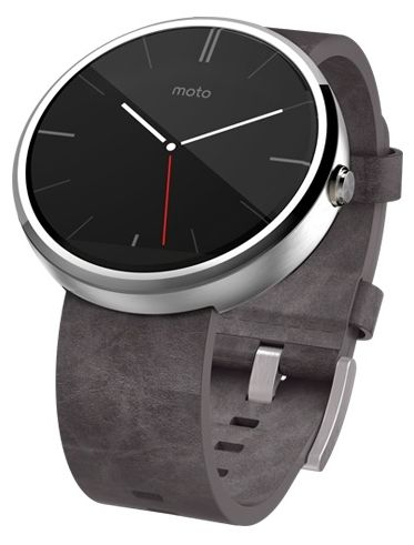 Motorola Moto 360 (leather)