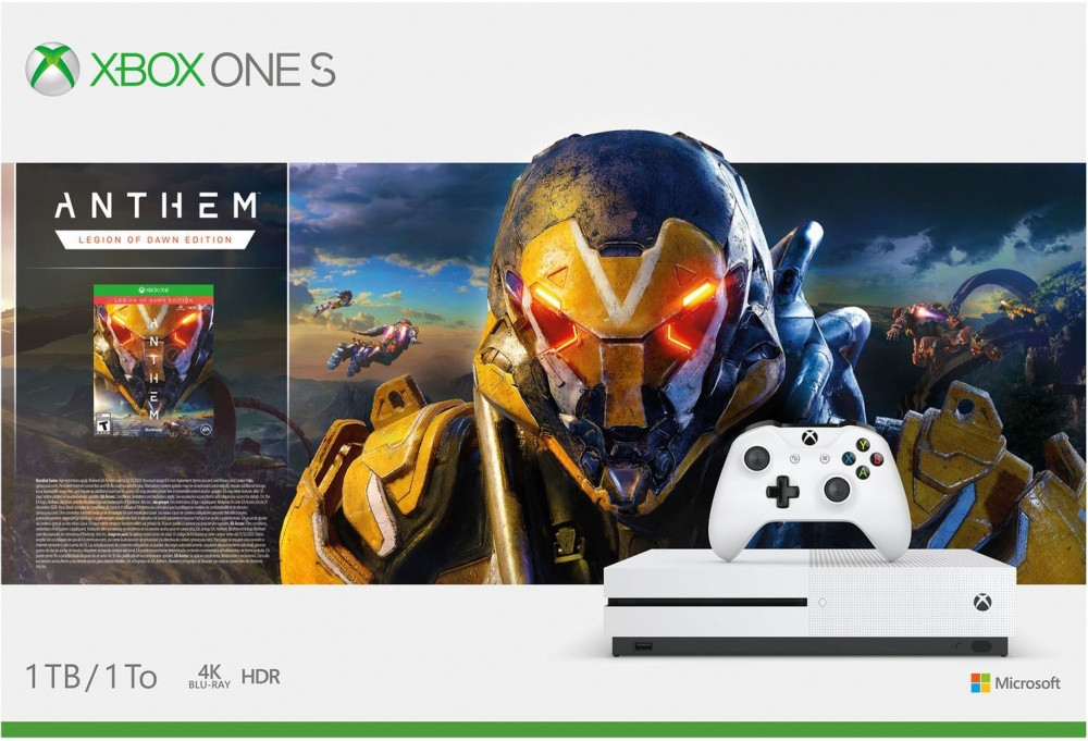 Купить игровая приставка Microsoft Xbox One S 1Tb Anthem Legion of Dawn Edition (234-00948) в интернет магазине. Цены, фото, описания, характеристики, отзывы, обзоры