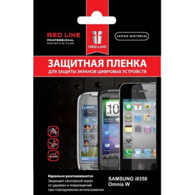 Купить Red Line Защитная пленка для Samsung Omnia W GT-I8350 в интернет магазине. Цены, фото, описания, характеристики, отзывы, обзоры