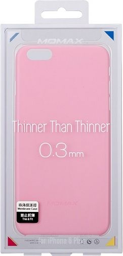 Momax Накладка для iPhone 6 Membrane Case 0.3 mm