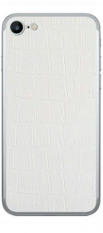Glueskin Наклейка WHITE ALLIGATOR 7-32 для Apple iPhone 7