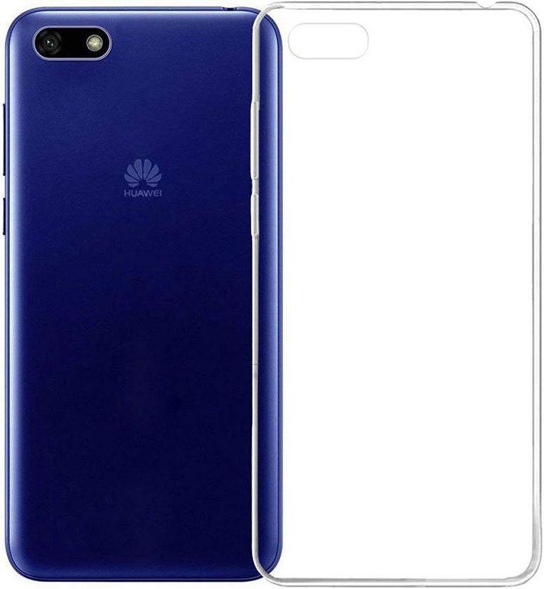Чехлы для мобильных телефонов PERO, Чехол-накладка для Huawei Y5 Prime (2018) (clear)  - купить со скидкой