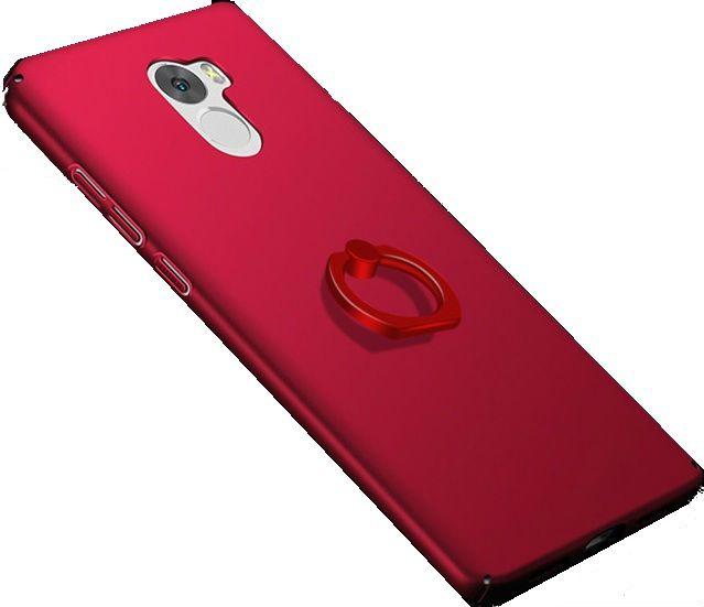 Купить JL Чехол-накладка с кольцом для Xiaomi Redmi 4 в интернет магазине. Цены, фото, описания, характеристики, отзывы, обзоры