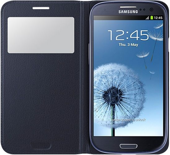Samsung Чехол-книжка S-View Cover для Samsung Galaxy S3 Duos GT-i9300i