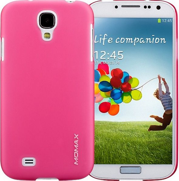 Momax Накладка Ultra Thin Case Clear Touch для Samsung Galaxy S4 GT-i9500