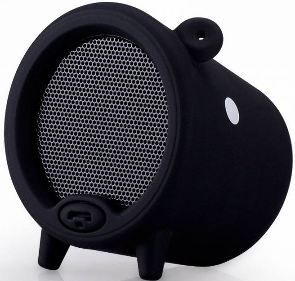 Купить со скидкой Портативная колонка Piggy Bluetooth Speaker (black)