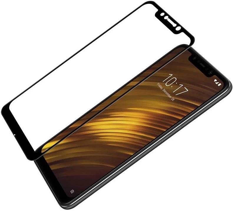 Купить Glass Pro Защитное стекло FullScreen для Xiaomi Pocophone F1 в интернет магазине. Цены, фото, описания, характеристики, отзывы, обзоры