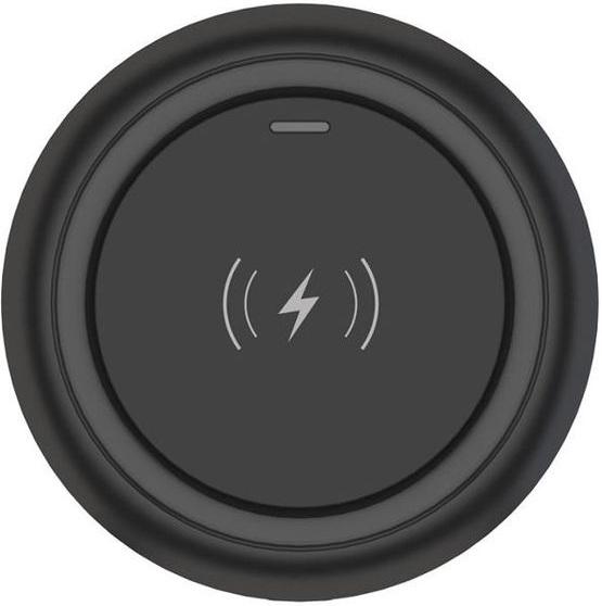 Зарядное устройство Devia, Беспроводное зарядное устройство Allen Wireless Ultra Thin Charger (black)  - купить со скидкой
