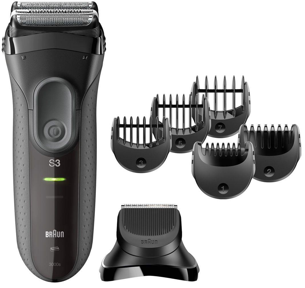 Купить электробритва Braun 3000BT Series 3 Shave&Style в интернет магазине. Цены, фото, описания, характеристики, отзывы, обзоры