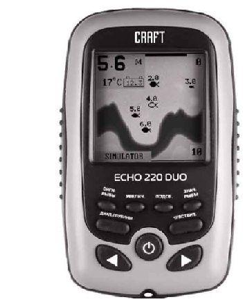 Купить Craft Эхолот Echo 220 Duo Ice Edition в интернет магазине. Цены, фото, описания, характеристики, отзывы, обзоры