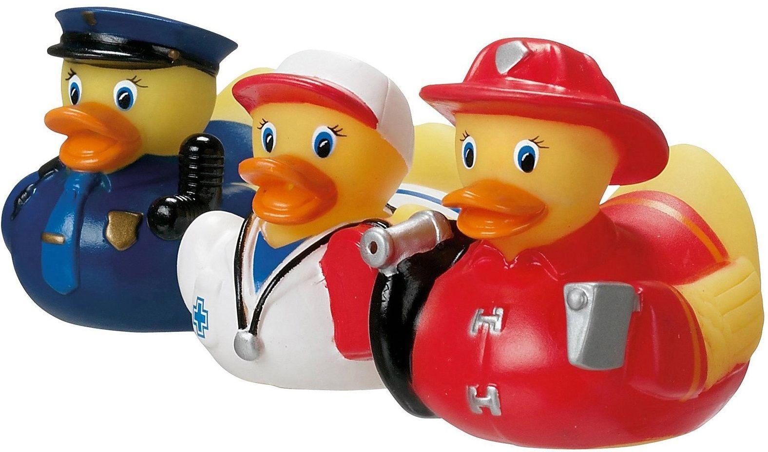 Купить Набор игрушек для ванны Уточки (red), Принадлежности для купания малыша Munchkin, Аксессуары для ванной