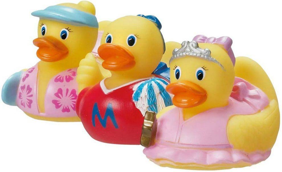 Купить Набор игрушек для ванны Уточки (pink), Принадлежности для купания малыша Munchkin, Аксессуары для ванной