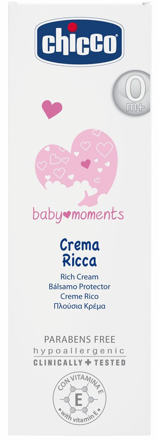 Chicco Крем Baby Moments 100 мл