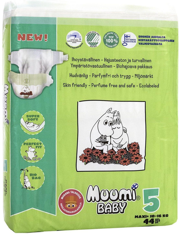 Купить Muumi Подгузники, Baby Maxi+ (Бейби Макси плюс) 10-16 кг в интернет магазине. Цены, фото, описания, характеристики, отзывы, обзоры