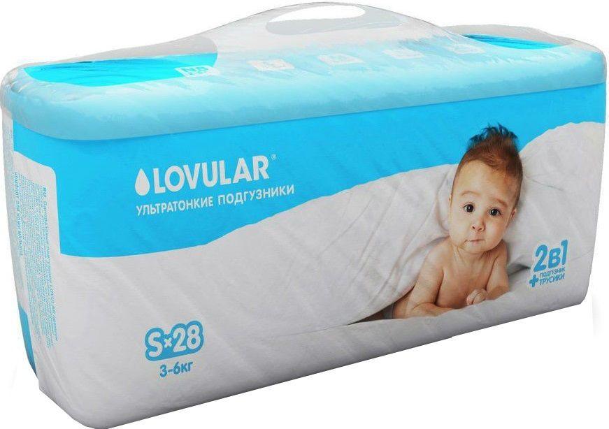 Купить Lovular Подгузники-трусики, S (3-6 кг) в интернет магазине. Цены, фото, описания, характеристики, отзывы, обзоры