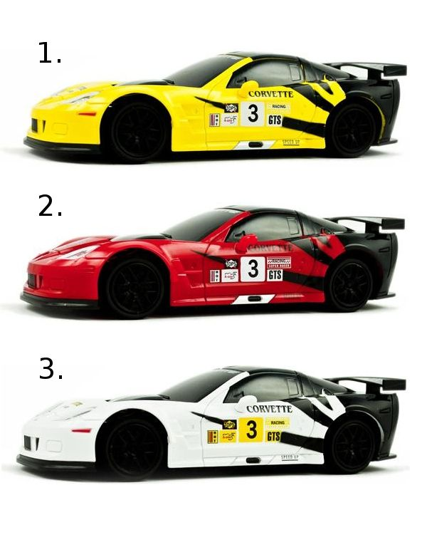 "XQ Машина  ""Chevrolet Corvette Racing car"""